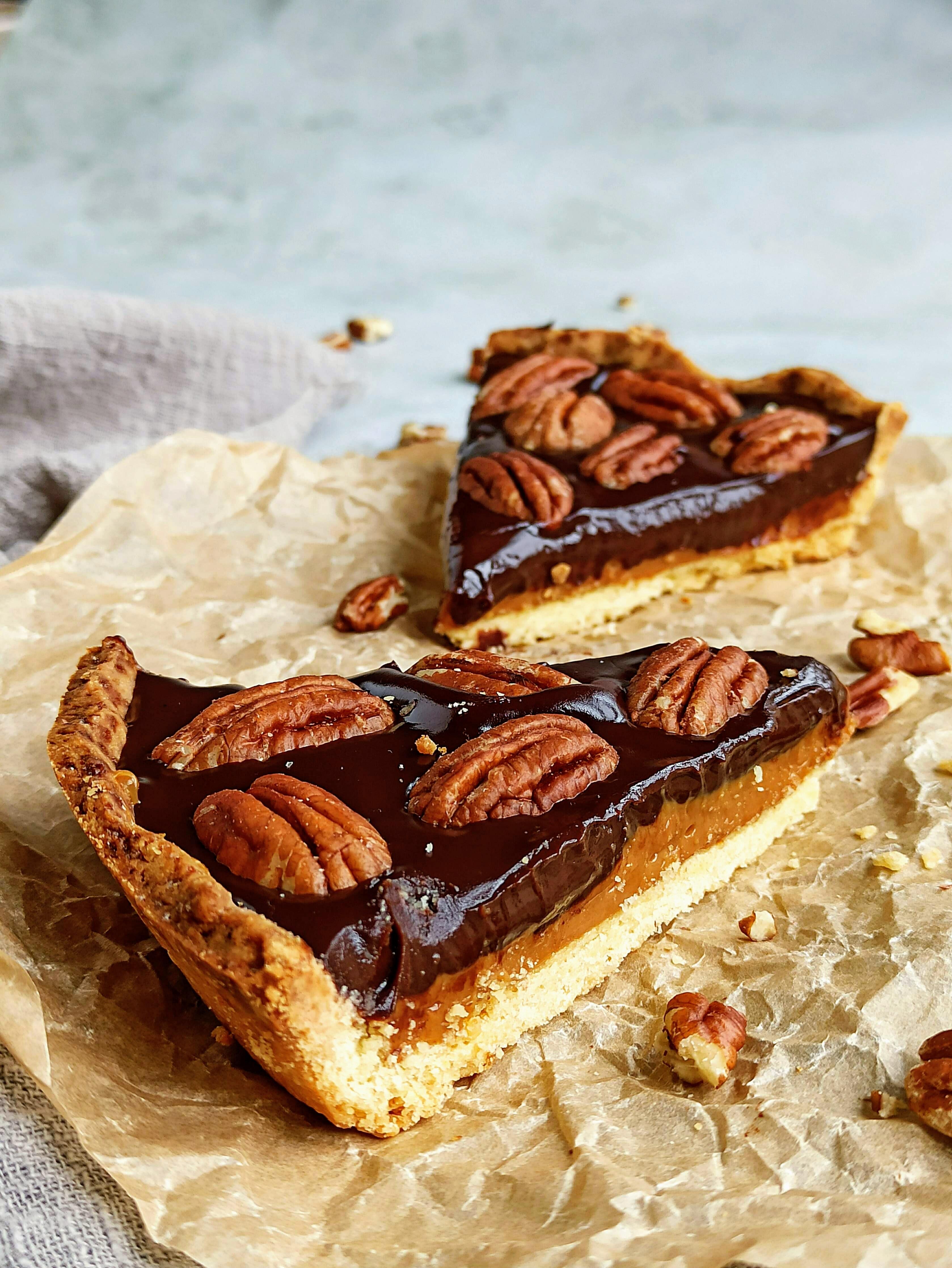 Pecannoten-karameltaart-metchocolade-buufenbuuf-taart-dulchedeleche